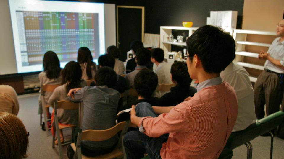 第2回勉強会「Sound & Music Workshop vol.2」の様子