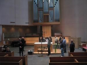 St. Peter's Lutheran Church of Manhattanにて、ライブオルガンレコーディング