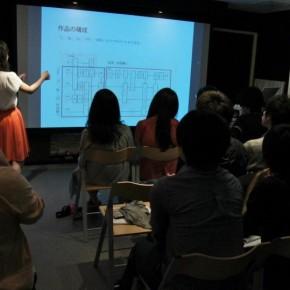 東京芸術大学の学生による発表